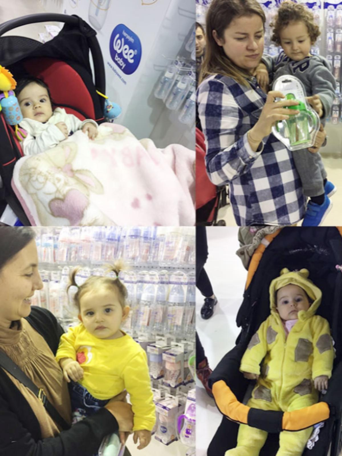 İBS Anne Bebek Çocuk Fuarı'nda standımız yoğun ilgi gördü