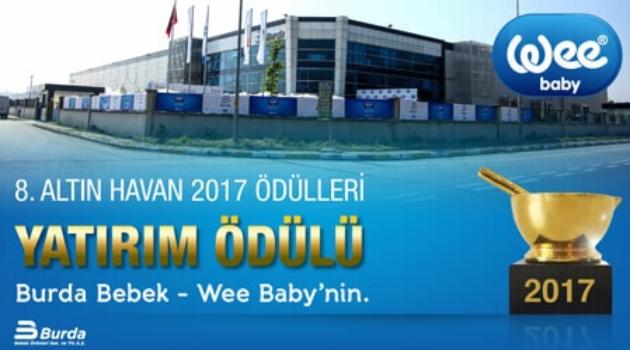 Altın Havan ödülüne Burda Bebek-Wee Baby markası layık görüldü