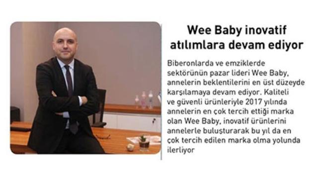 Wee Baby İnovatif Atılımlara Devam Ediyor