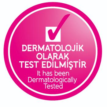Dermatolojik olarak test edilmiştir