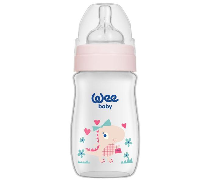 Wee Baby Klasik Plus Geniş Ağızlı PP Biberon 250 ml