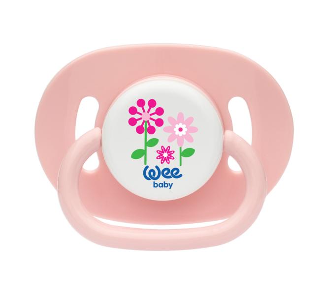 Wee Baby Oval Gövdeli Yuvarlak Uçlu Emzik