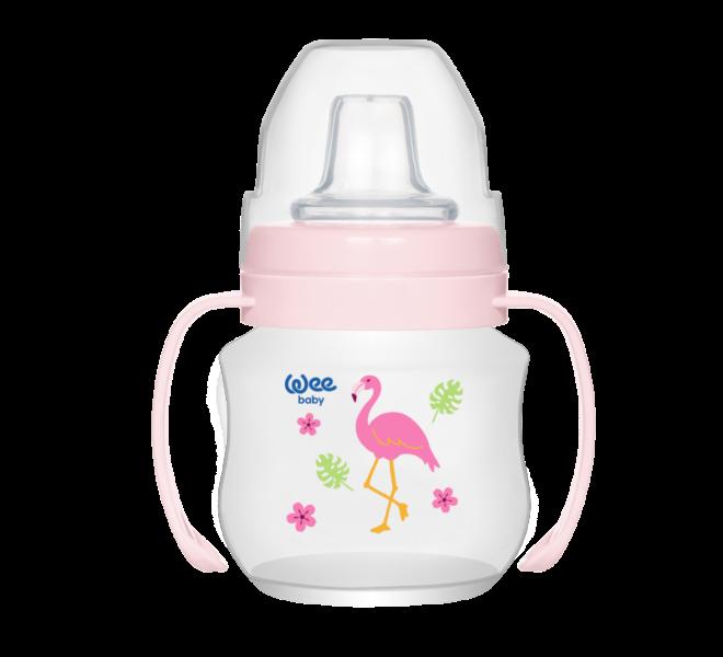 Wee Baby Akıtmaz Kulplu PP Antikolik Bardak 125 ml
