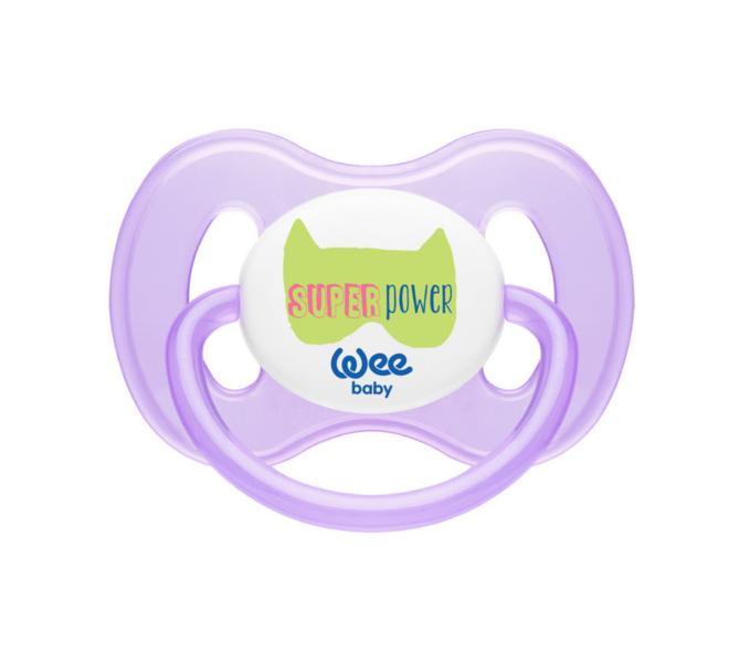 Wee Baby Damaklı Kelebek Emzik