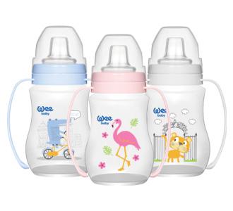 Wee Baby Akıtmaz Kulplu PP Antikolik Bardak 250 ml